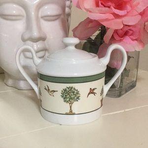 Christian Dior sugar bowl Le Jardin